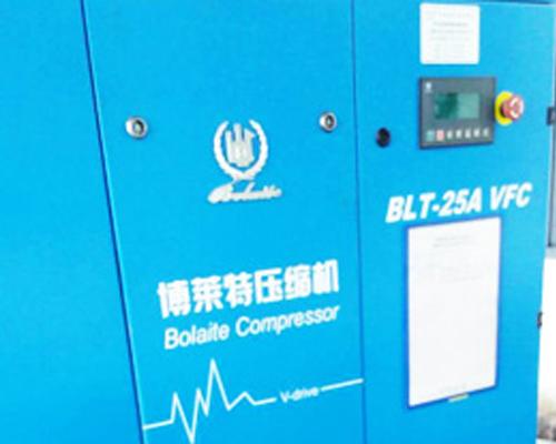 生产设备驱动及表面清理压缩空气案例