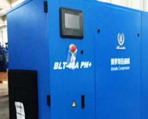 螺杆空压机应用于生产设备的空气压缩案例